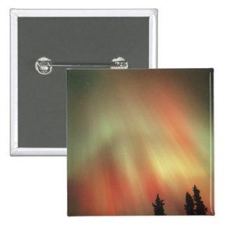 Aurora Borealis, Northern Lights, Fairbanks Button