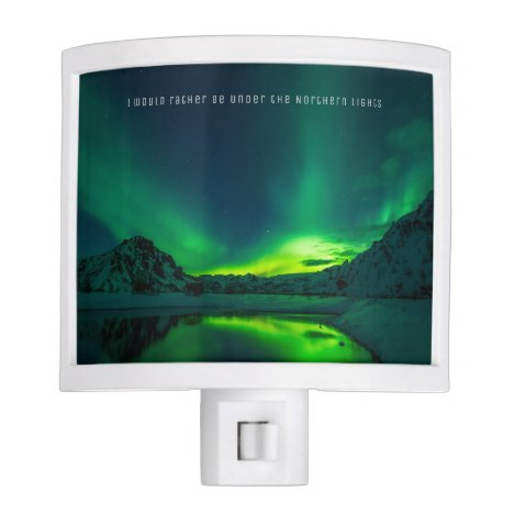 Aurora Borealis Northern Lights Night Light Custom