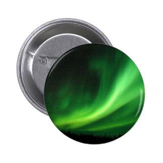Aurora Borealis Northern Lights Pinback Button