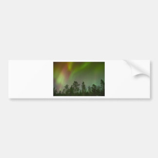 Aurora Borealis Northern Lights Skies Glow Sparkle Bumper Sticker