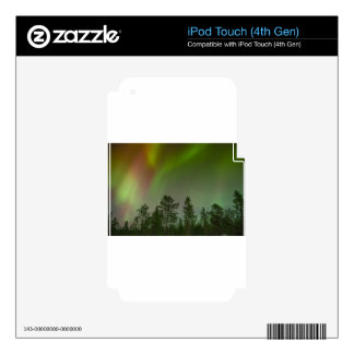 Aurora Borealis Northern Lights Skies Glow Sparkle iPod Touch 4G Decal