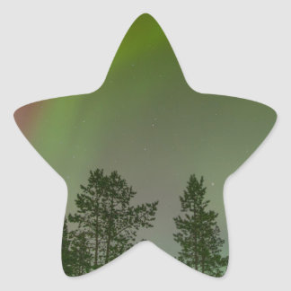 Aurora Borealis Northern Lights Skies Glow Sparkle Star Sticker