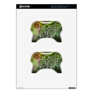 Aurora Borealis Northern Lights Skies Glow Sparkle Xbox 360 Controller Skins
