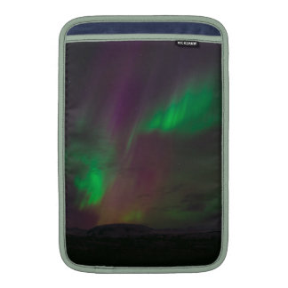 Aurora Borealis Northern Lights Trees Nature Lands MacBook Air Sleeve