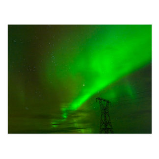 Aurora Borealis over Nesjavellir Postcard