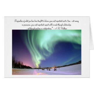 Aurora Borealis Photo Card