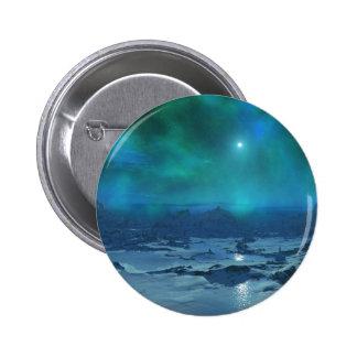Aurora Borealis Pinback Button