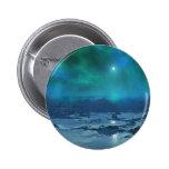 Aurora Borealis Pinback Buttons