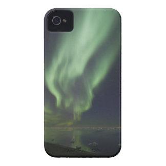 Aurora Borealis reflected in Arctic Ocean Case-Mate Blackberry Case