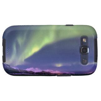 Aurora Borealis sobre Lyngenfjorden Noruega Galaxy S3 Protectores