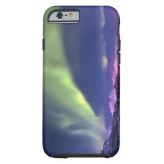 Aurora Borealis sobre Lyngenfjorden Noruega Funda Para iPhone 6 Tough