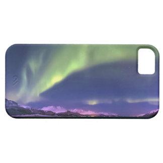 Aurora Borealis sobre Lyngenfjorden Noruega iPhone 5 Carcasas
