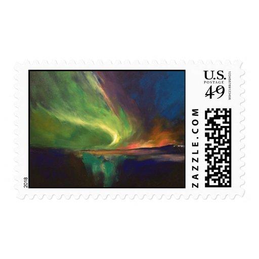 Aurora Borealis Stamp