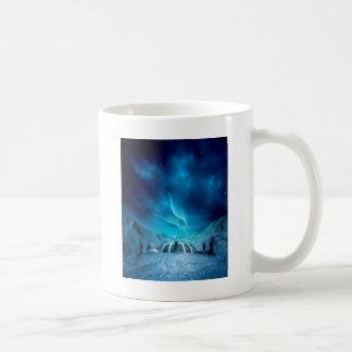 Aurora Borealis Taza Clásica