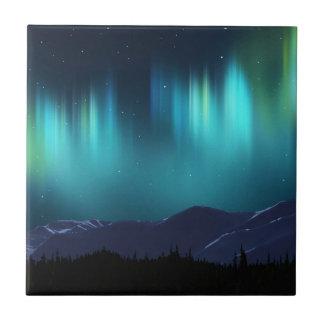 Aurora Borealis Ceramic Tiles