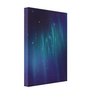 Aurora Borealis Wrapped Canvas