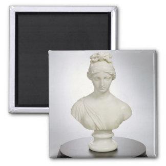 Aurora, c.1843-45 (marble) 2 inch square magnet