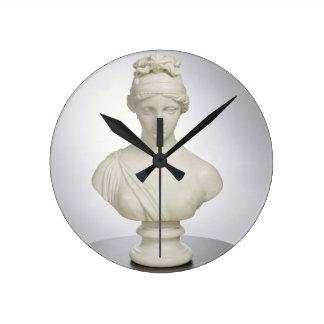 Aurora, c.1843-45 (marble) round clock