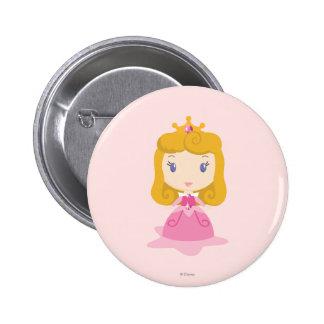 Aurora Cartoon Pinback Button