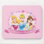 Aurora, Cenicienta y belleza de la princesa el   Mouse Pad