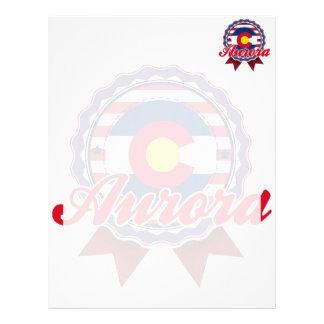 Aurora, CO Custom Letterhead