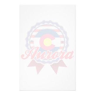 Aurora, CO Personalized Stationery