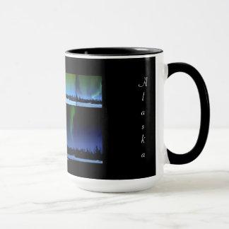 Aurora Collage Alaska Mug
