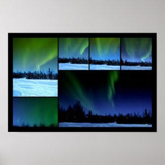 Aurora Collage Poster