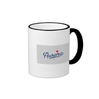 Aurora Colorado CO Shirt Coffee Mugs