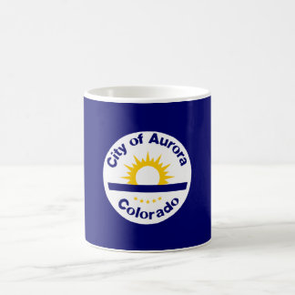Aurora, Colorado Flag Coffee Mug