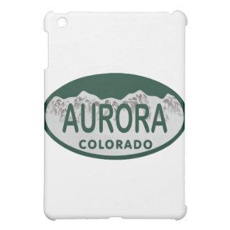 Aurora Colorado license oval iPad Mini Cases