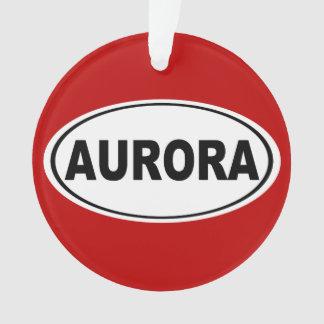 Aurora Colorado Ornament