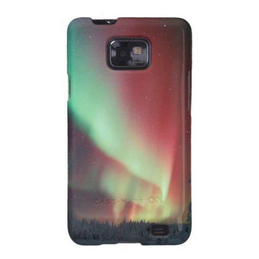 Aurora de Alaska Borealis Galaxy SII Fundas
