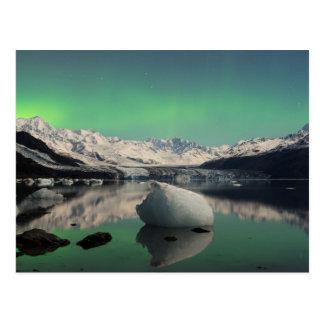 Aurora de la edad de hielo postal