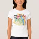 Aurora de la princesa el | de Disney, Tiana, Remera