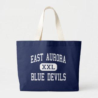 Aurora del este - diablos azules - alta - aurora d bolsa de mano