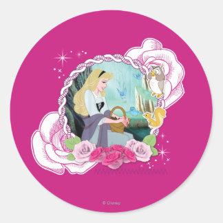 Aurora - Gentle and Graceful Classic Round Sticker