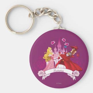 Aurora -  Grace and Beauty Basic Round Button Keychain