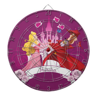 Aurora -  Grace and Beauty Dart Board
