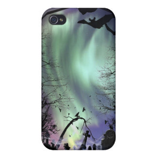 Aurora Graveyard iPhone Case Cover For iPhone 4
