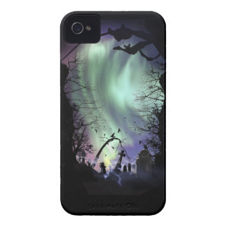 Aurora Graveyard iPhone Case iPhone 4 Covers