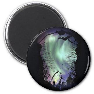 aurora graveyard refrigerator magnet