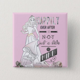 Aurora - Happily Ever After Pinback Button