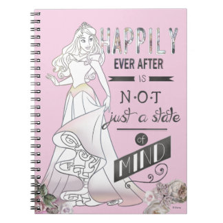 Aurora - Happily Ever After Spiral Notebook