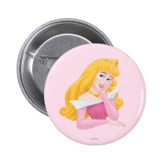 Aurora Headshot Pinback Button