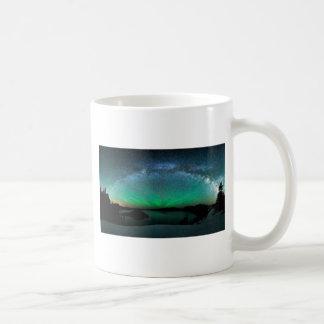 Aurora hermosa Borealis/aurora boreal Taza De Café