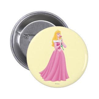 Aurora Holding Flower Button
