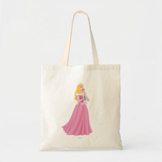 Aurora Holding Flower Tote Bag