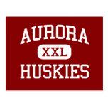 Aurora - Huskies - High School - Aurora Nebraska Postcards