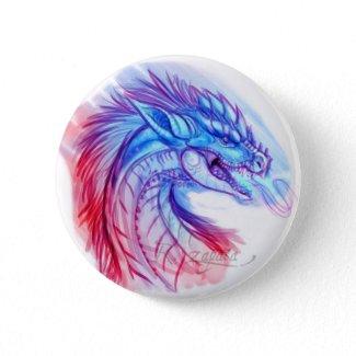 Aurora Ice dragon button